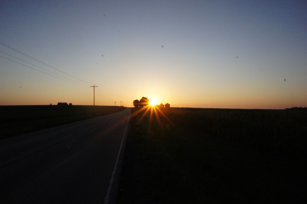 iheartcardio rural sunset
